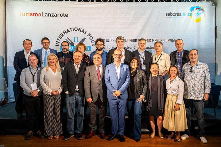 Foto de familia II Congreso Internacional de Periodistas Gastronómicos.