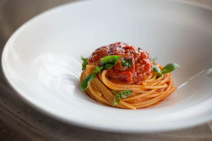 Espaguetis pomodoro