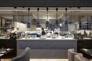 Cocina restaurante It Milano