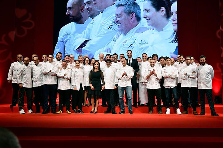 Michelin guide Spain & Portugal. Starred restaurants