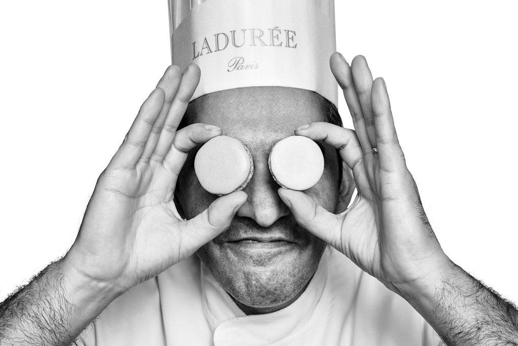 Ladurée pastry chef. Lisbon