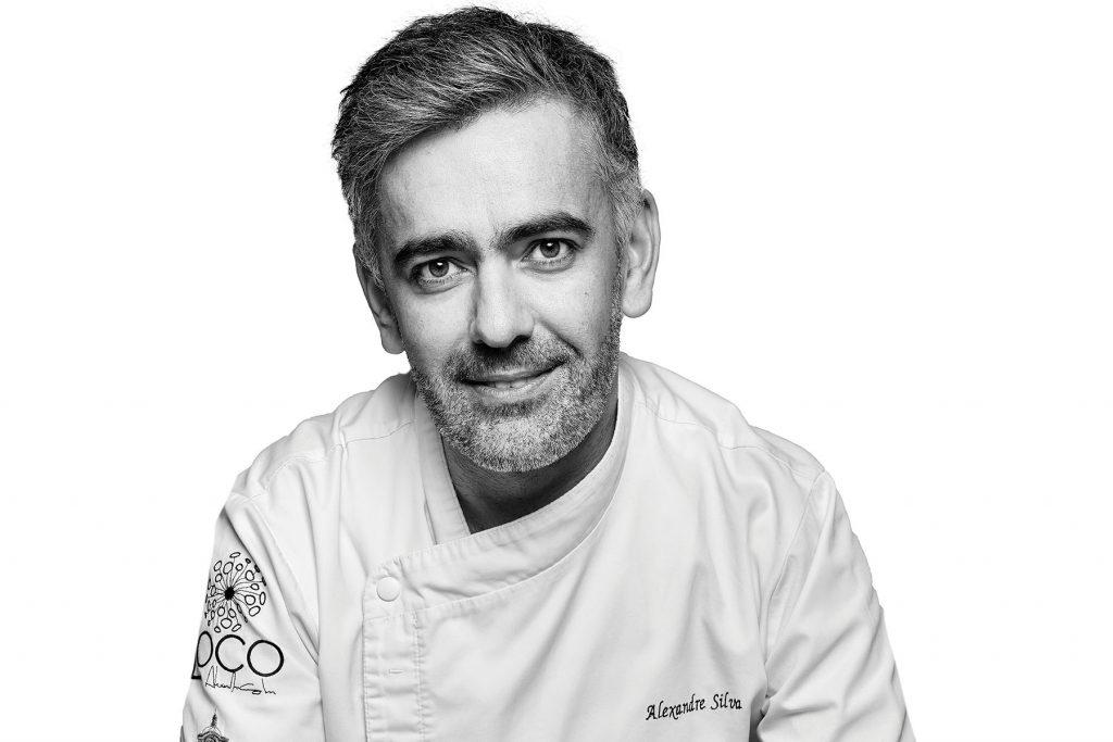 Chef Alexandre Silva. Restaurant Loco, Lisbon