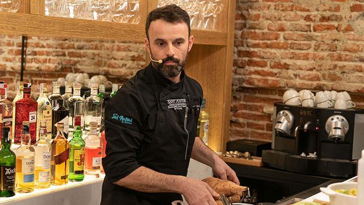 José Miguel Bonet, chef del restaurante Es Ventall