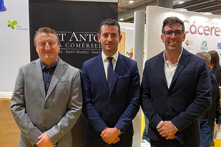 Francisco Cardona, Marcos Serra y Miguel Tur