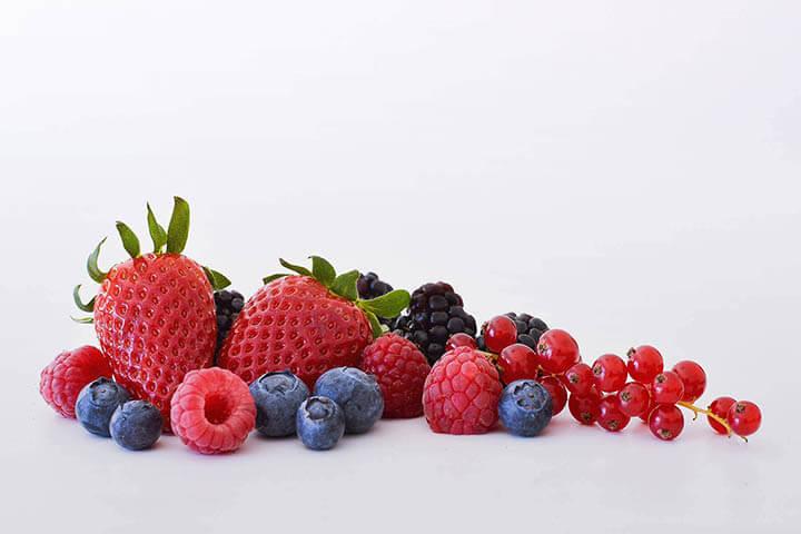 Frutos vermelhos. AgroAguiar
