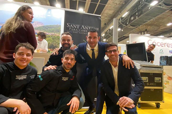 José González, Álvaro Zanz, José Miguel Bonet, Marcos Serra y Miguel Tur