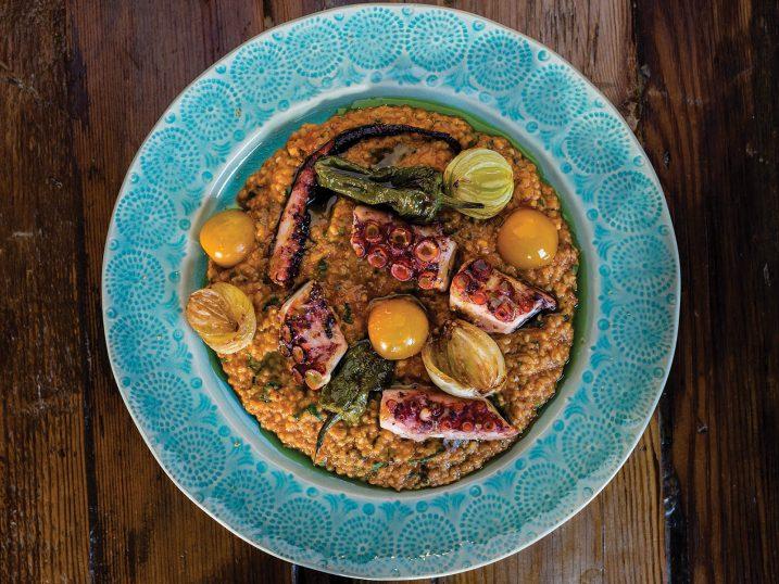 Octopus prime. Restaurante Jangada. Ericeira