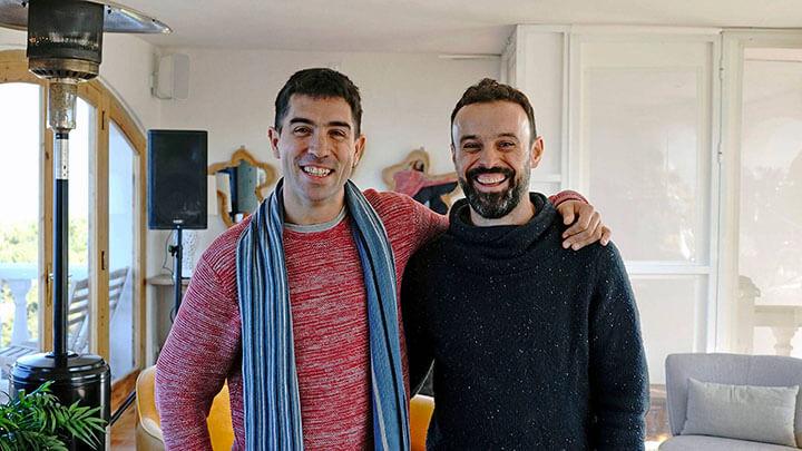Chefs Álvaro Sanz y José Miguel Bonet