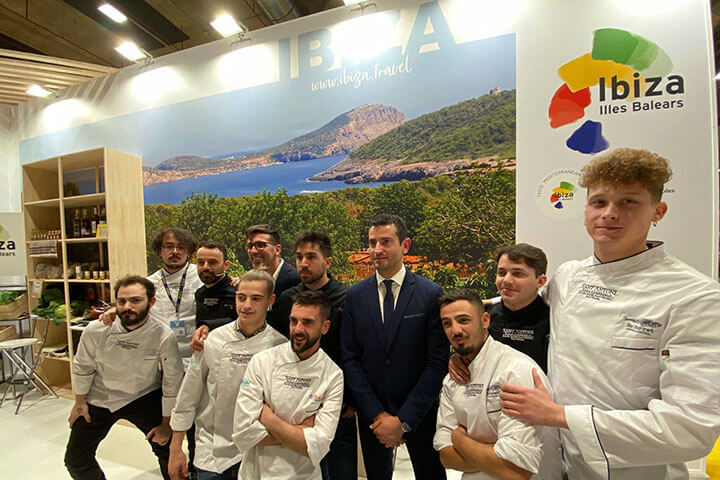 Repersentantes de San Antoni en Madrid Fusión 2020
