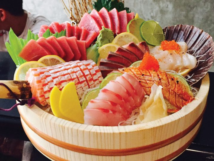 Sushi. Restaurante Hikidashi Taberna Japonesa