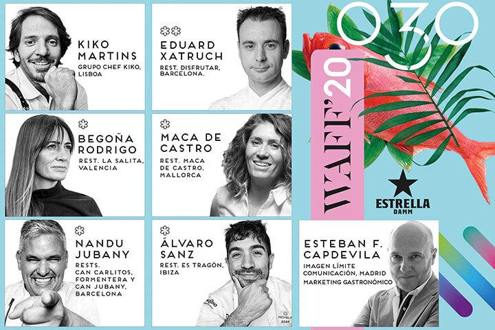 Cartel de ponentes en We Are Facefood Ibiza 2020
