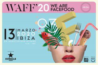 Cartel presentación We Are Facefood Ibiza 2020
