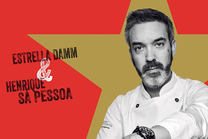 Chef Henrique Sa Pessoa. Estrella Damm