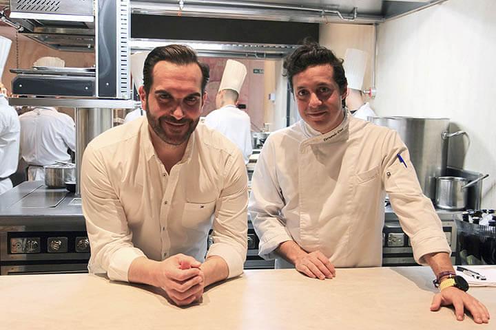 Chefs Mario Sandoval y Fernando Díaz