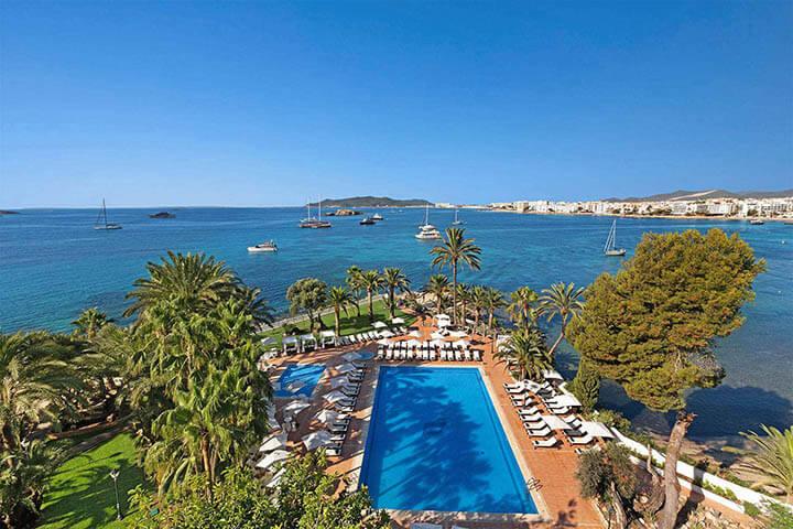 Vista mar desde el Hotel Los Molinos. THB Hotels