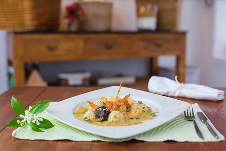 Restaurante La Luna Nell'Orto. Ibiza