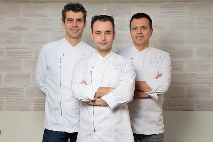 Mateu Casañas, Eduard Xatruch y Oriol Castro