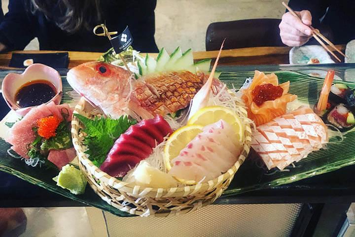 Sushi. Hikidashi