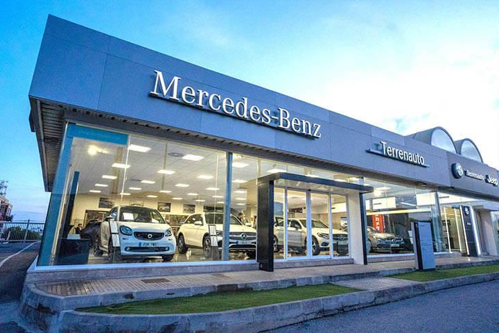 Terrenauto, concesionario Mercedes Benz Ibiza.