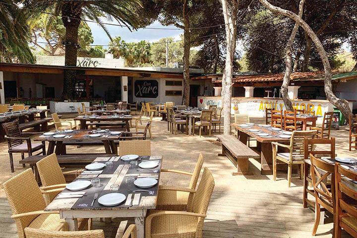 Terraza Can Xarc. Ibiza