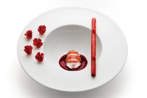 Lobster. Restaurant Eneko Lisboa. Lisbon
